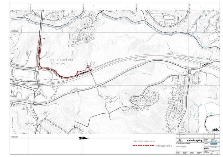 tonstad kart Miljøpakken » Kollektivfelt, E6 Sør (Sentervegen Tonstad) tonstad kart