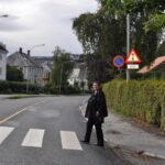 Rita Ottervik åpner smart gangfelt